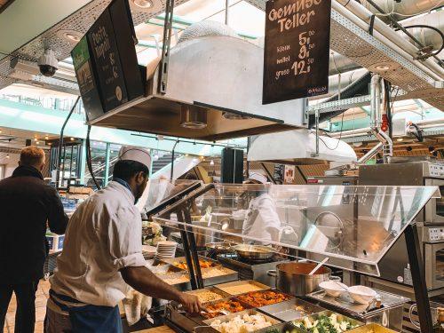 self service no restaurante manora