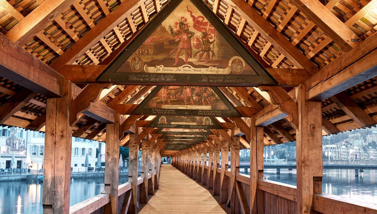 ponte da capela em lucerna