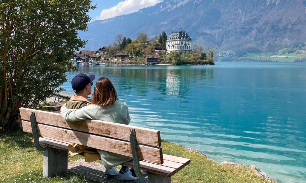 quel furtado em Iseltwald na Suíça