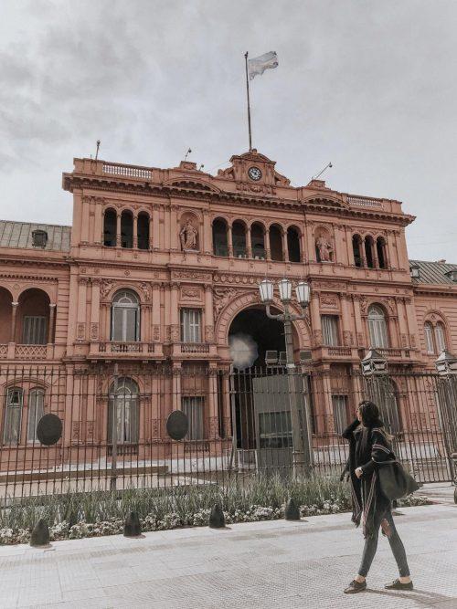 Onde ir em Buenos Aires - Casa Rosada