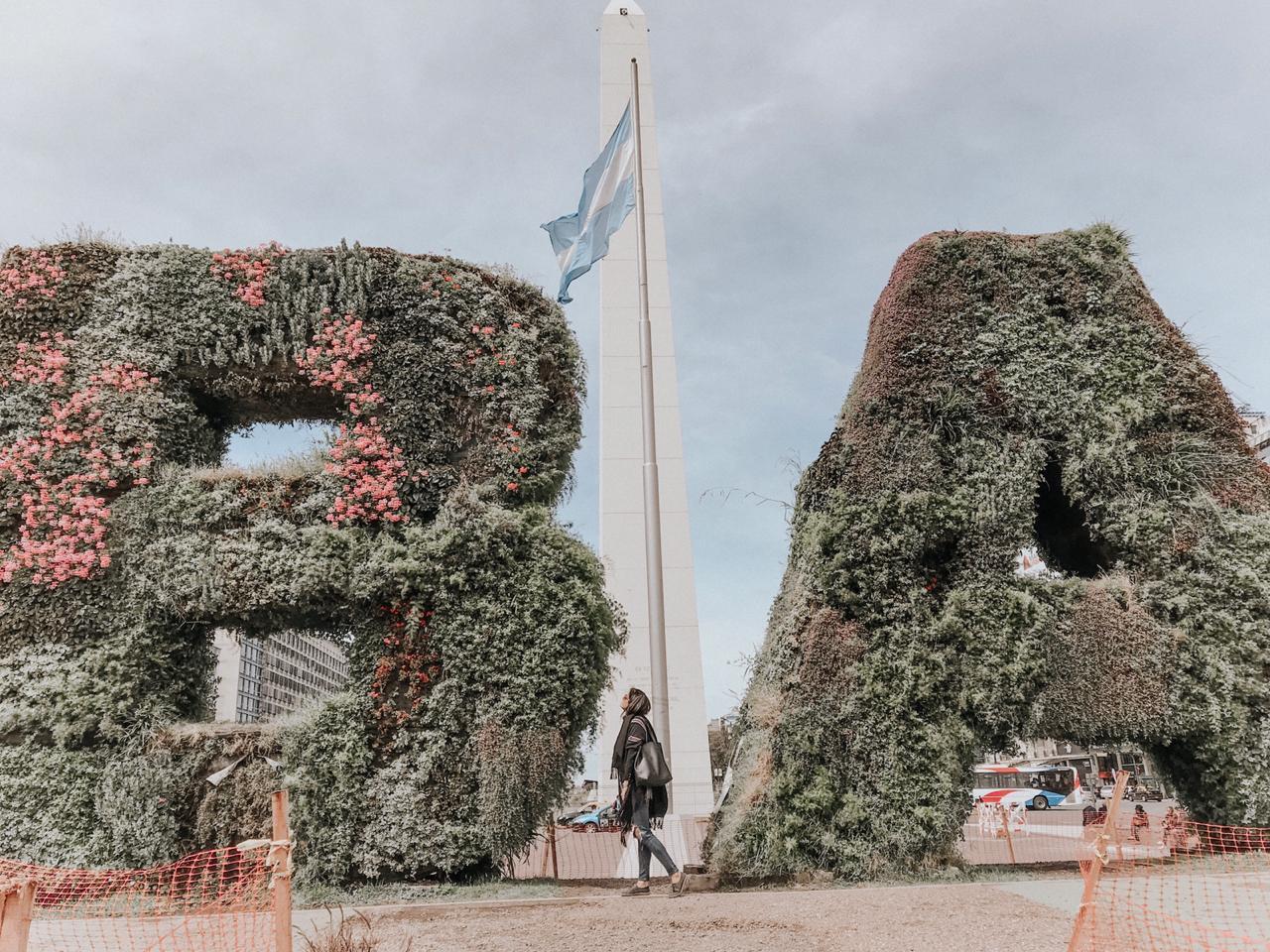 Onde ir em Buenos Aires - Obelisco de Buenos Aires