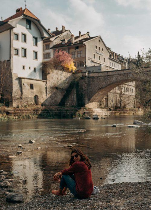 rio Farine em Fribourg