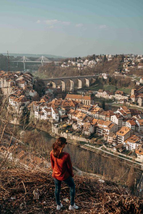 Fribourg vista do alto
