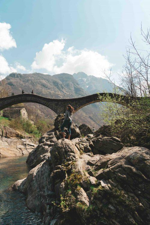 ponte dei salti em verzasca