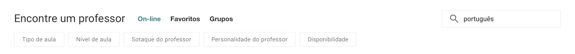 como encontrar professor que fala português no cambly