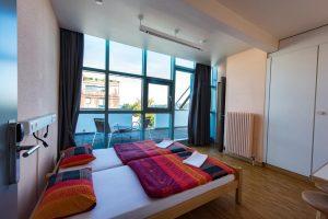 Onde ficar em Genebra - geneva hostelfoto quarto