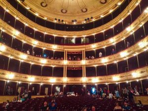 Onde ir em Montevidéu - Teatro Solis visto de dentro
