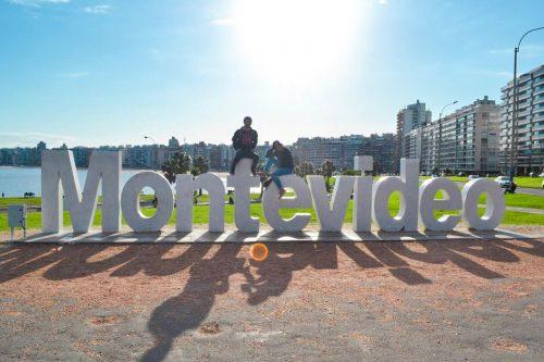 Onde ir em Montevidéu. Letreiro em Pocitos
