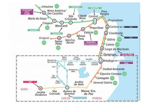 DICAS RIO DE JANEIRO: mapa do metro