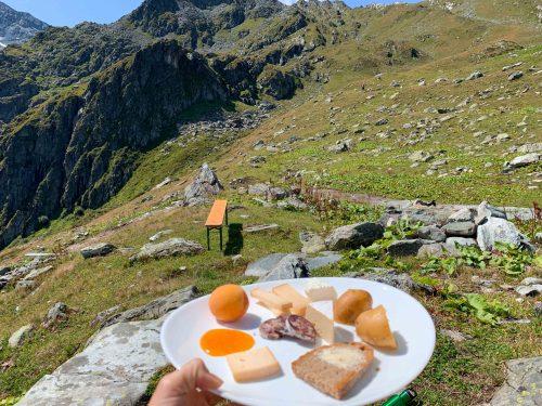 queijos em Verbier