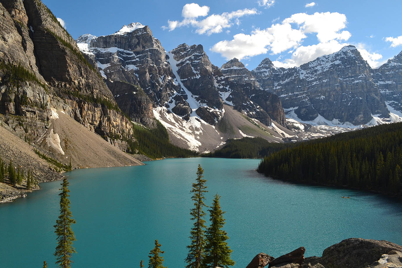 moraine lake nas rochosas canadenses