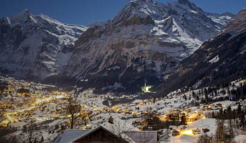 dicas de interlaken: Grindelwald no inverno