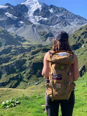 Hike em verbier com vista linda