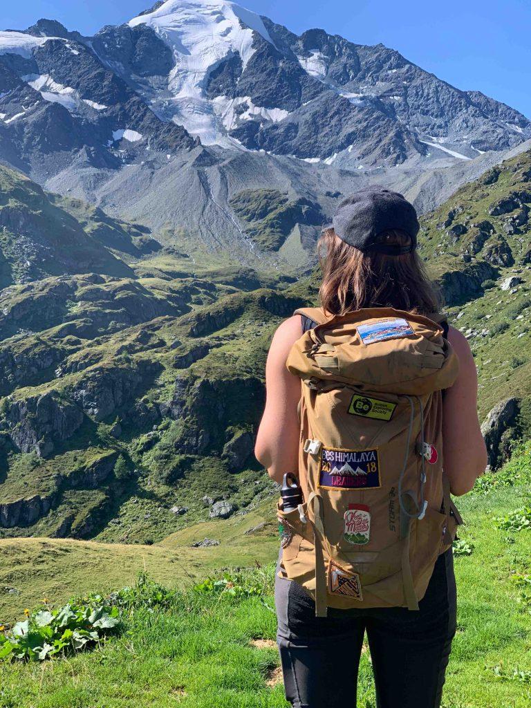 verão na Suíça em verbier com vista linda