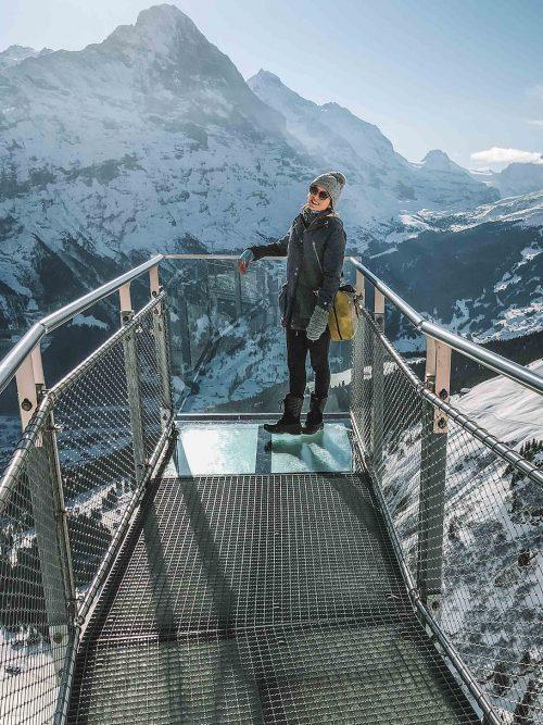grindelwald frist na Suiça no inverno