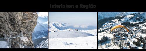 roteiro de inverno na suíça: Interlaken