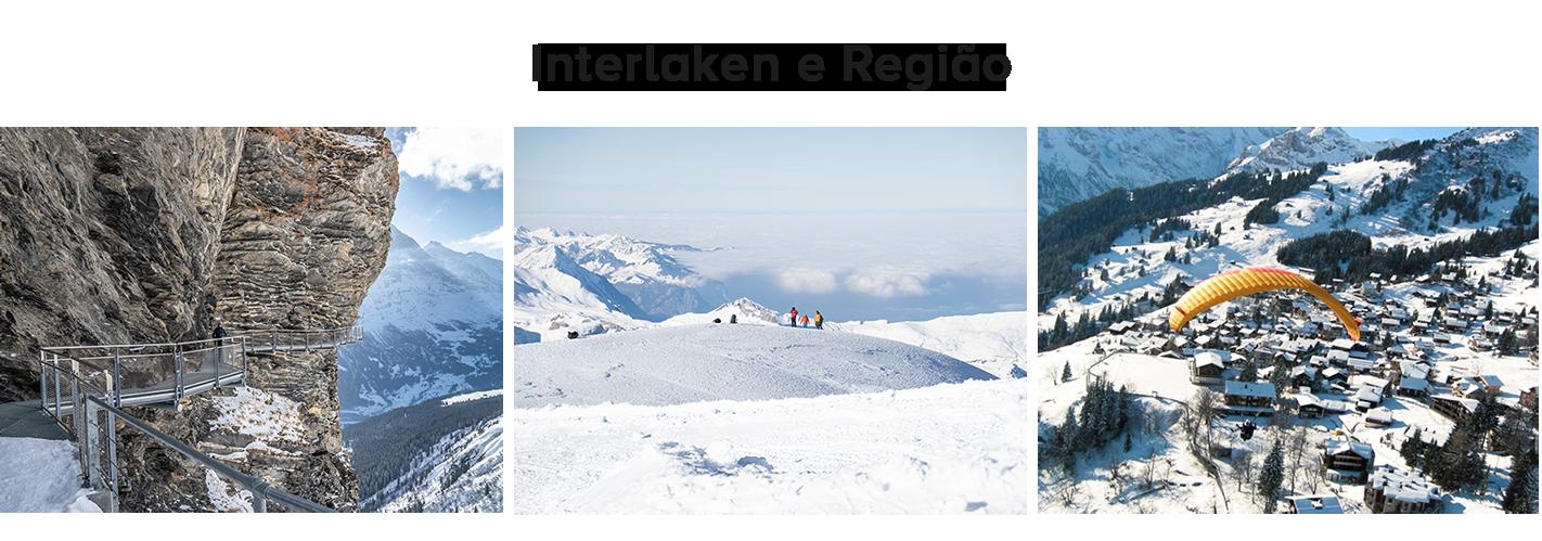 roteiro de inverno ma suíça: Interlaken