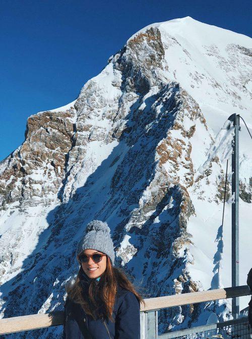 jungfrau no inverno na suíça