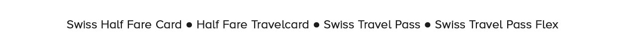 Swiss Half Fare Card e Swiss Travel Pass
