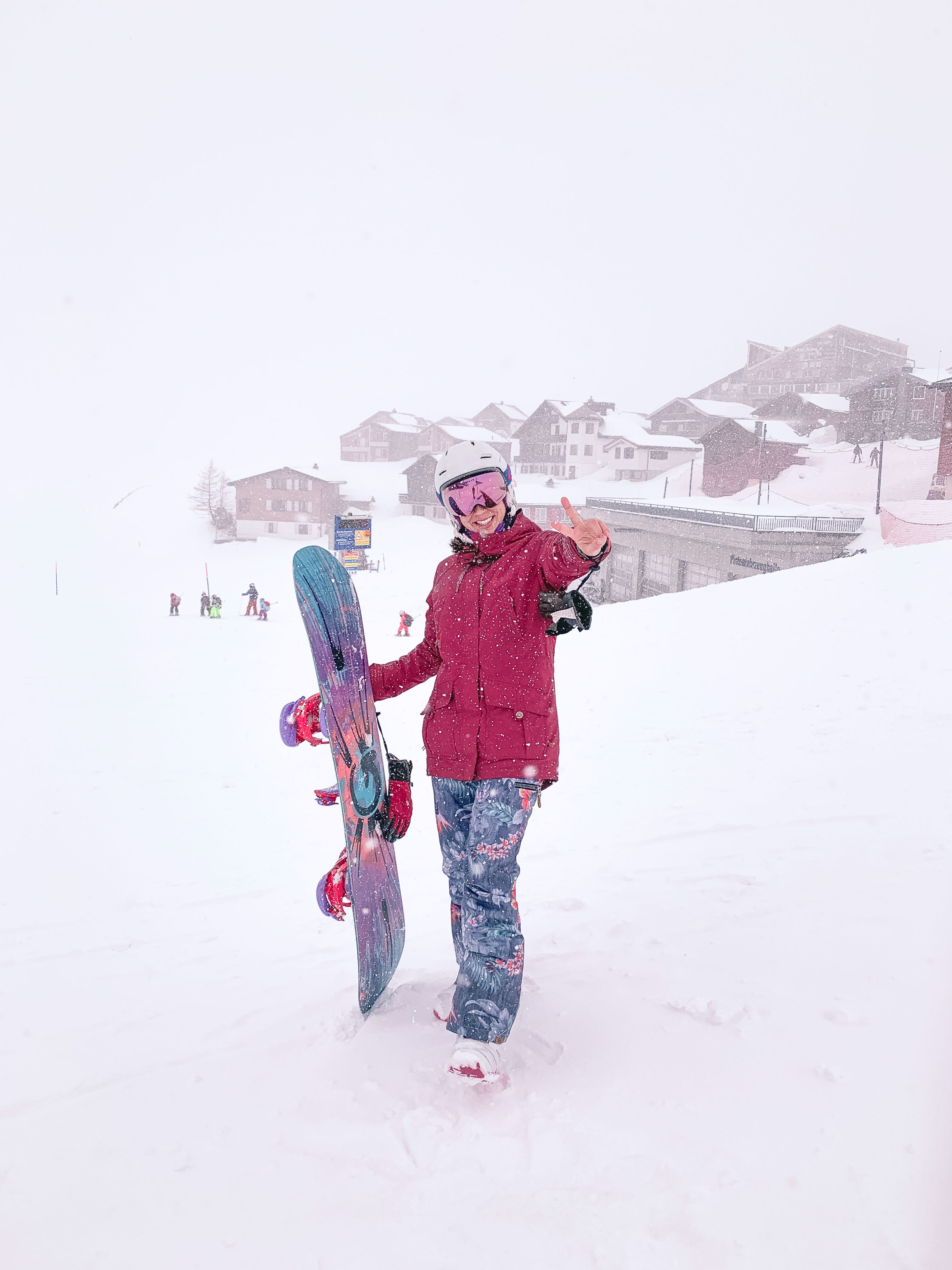 neve no roteiro de inverno na suíça