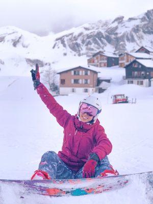 snowboard e neve no roteiro de inverno na suíça