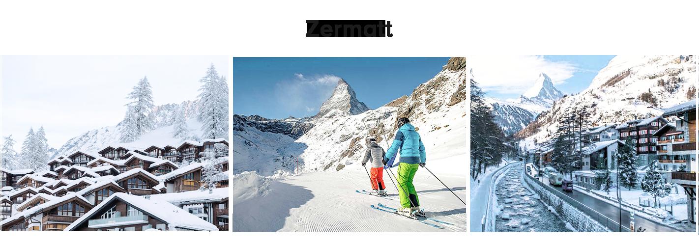 roteiro de inverno na suíça: Zermatt
