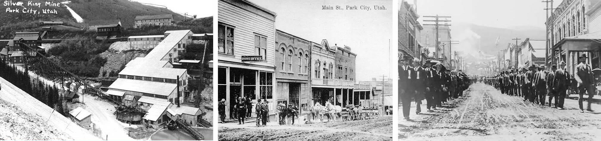 fotos históricas de park city em 1860