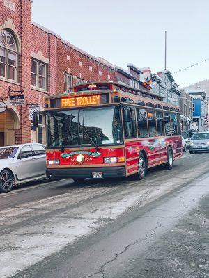 ônibus em park city