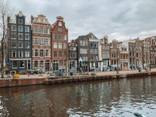 dicas de Amsterdam: arquitetura das caras