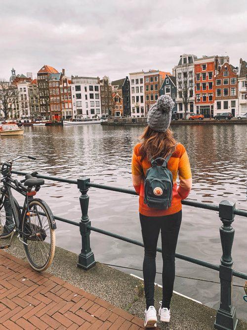 dicas de Amsterdam: casas estreitas e altas