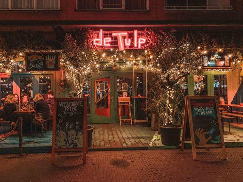 dicas Amsterdam onde comer e beber: de tulp