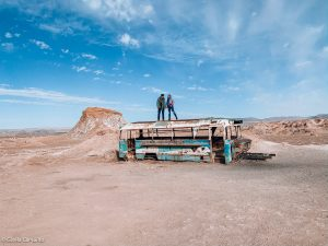 magic bus no Deserto do Atacama