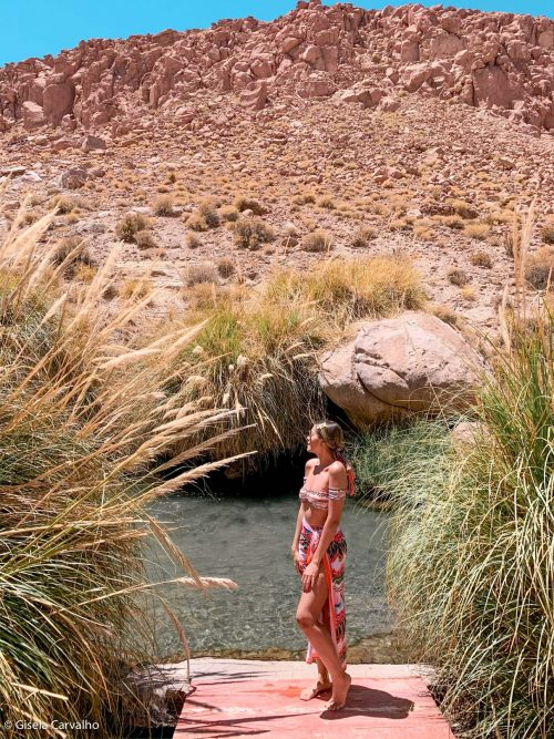 Termas de Puritama no Atacama