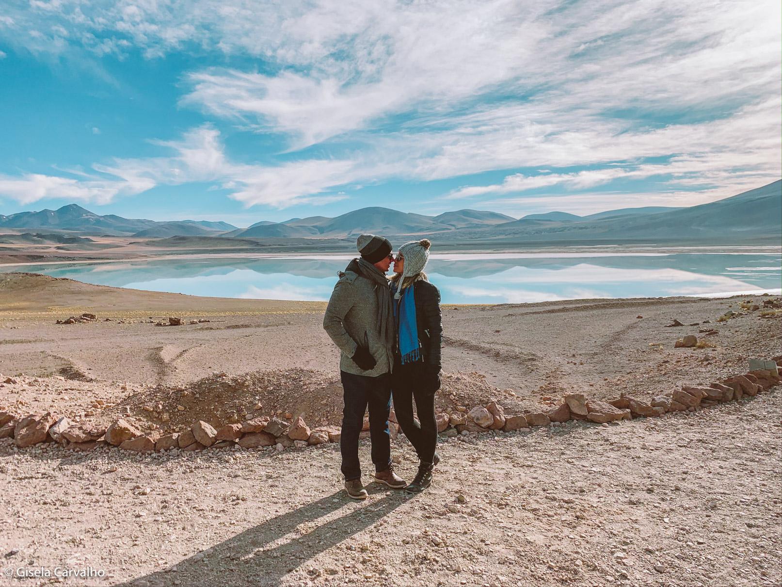 Lagunas Altiplanicas no deserto do Atacama