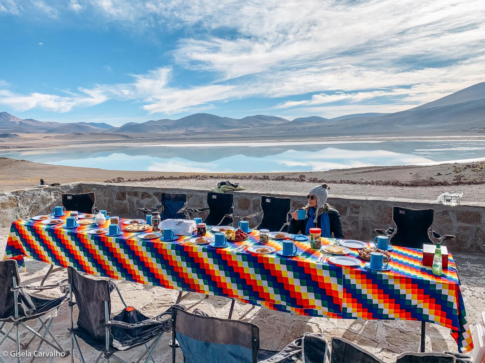 almoço no deserto to Atacama