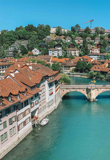 berna durante o verão na Suíça