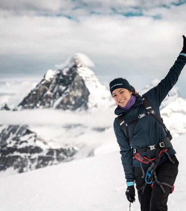 Quel Furtado com o Matterhorn ao fundo