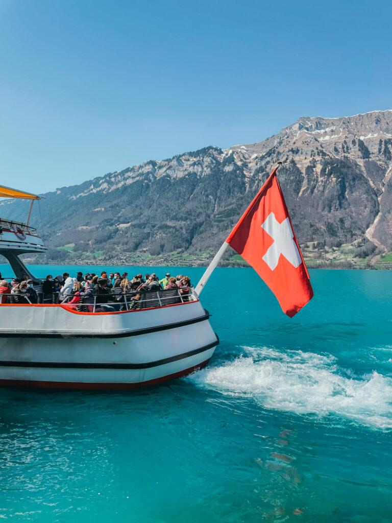 passeio de barco em Iseltwald