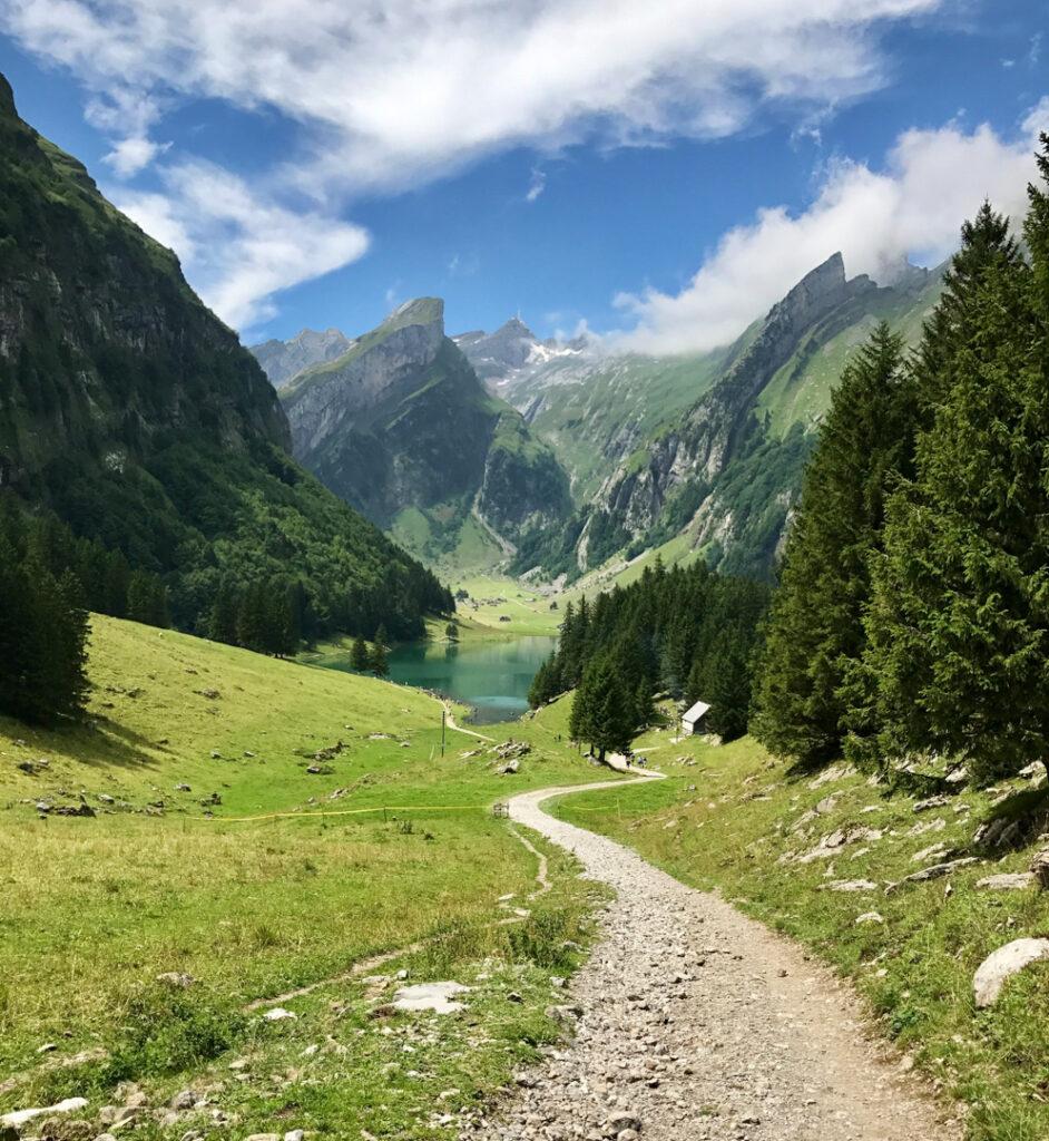 Appenzell no verão na Suíça
