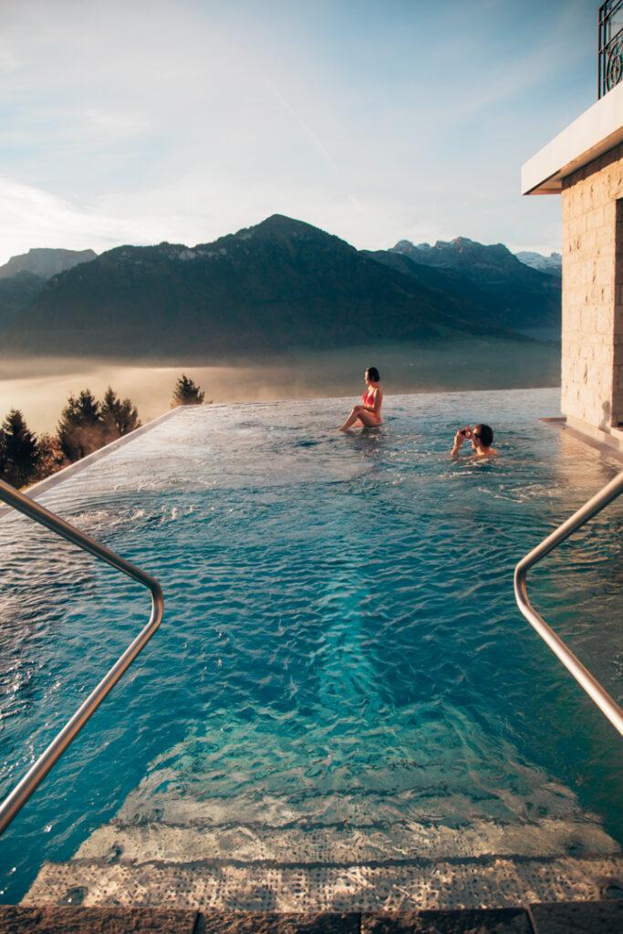 villa honegg um dos melhores hotéis da Suíça