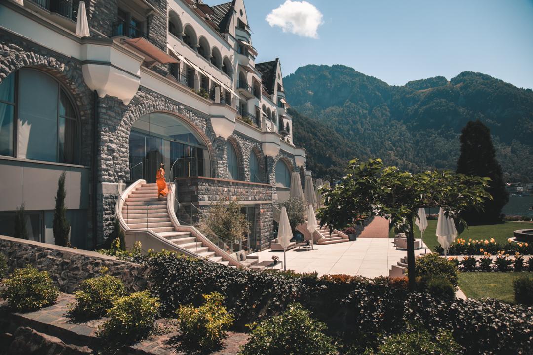 park hotel vitznau é um dos melhores hotéis de luxo na suíça